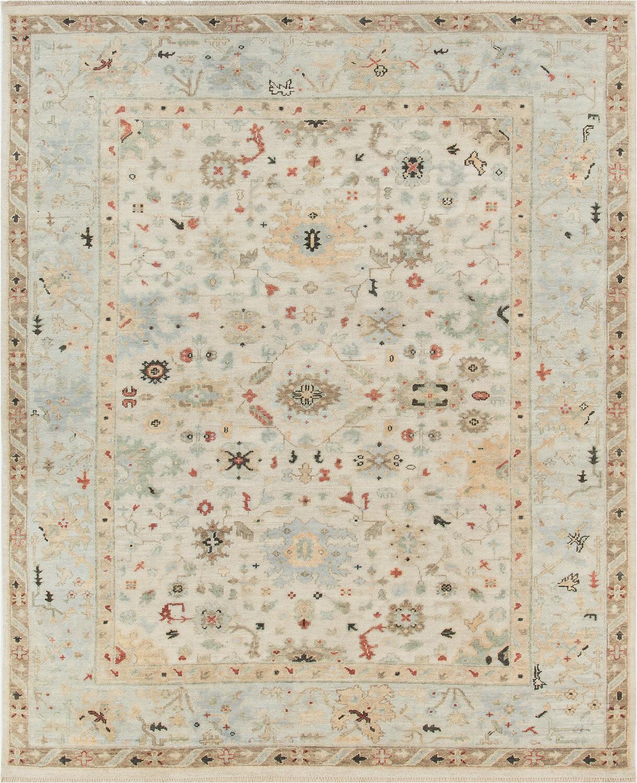 rosalind wheeler oriental hand knotted wool beige area rug w piid=