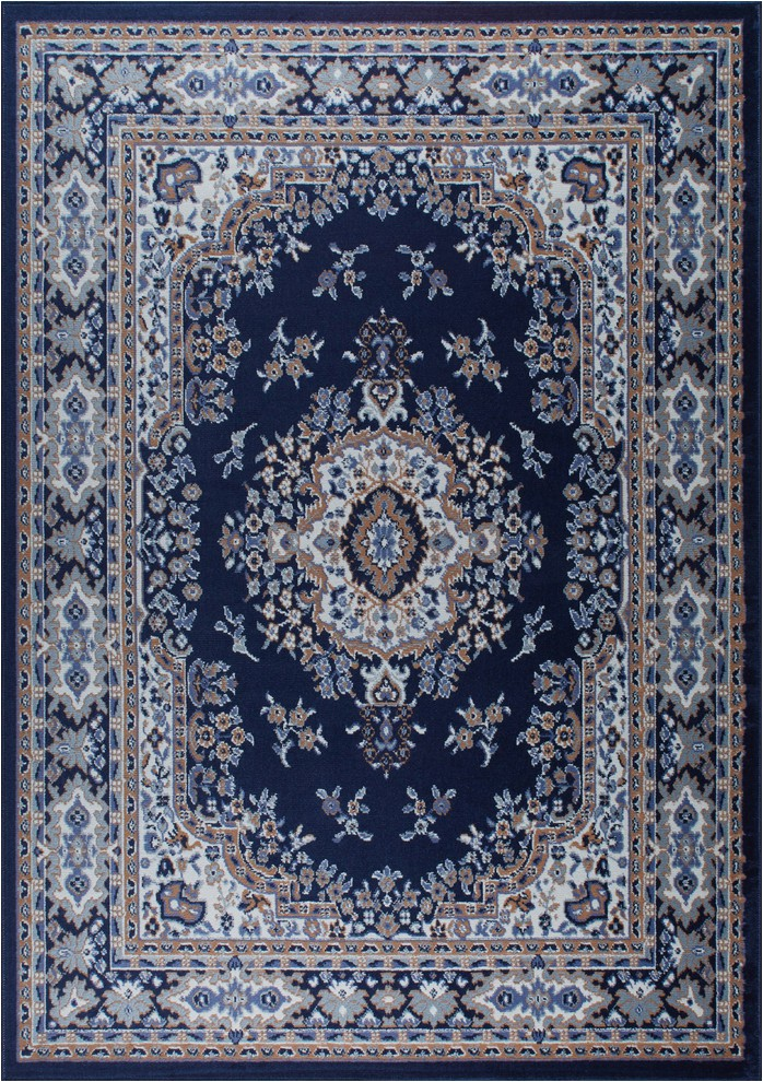 home dynamix premium sakarya area rug 5 2x7 4 border navy blue prvw vr