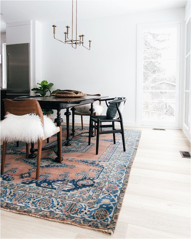 Large area Rugs for Dining Room 2018 Dining Room Trend We are Seeing A Large area Rug for