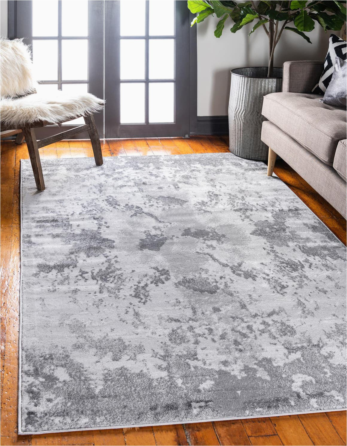 Light Gray area Rug 9×12 9 X 12 Metropolis Rug