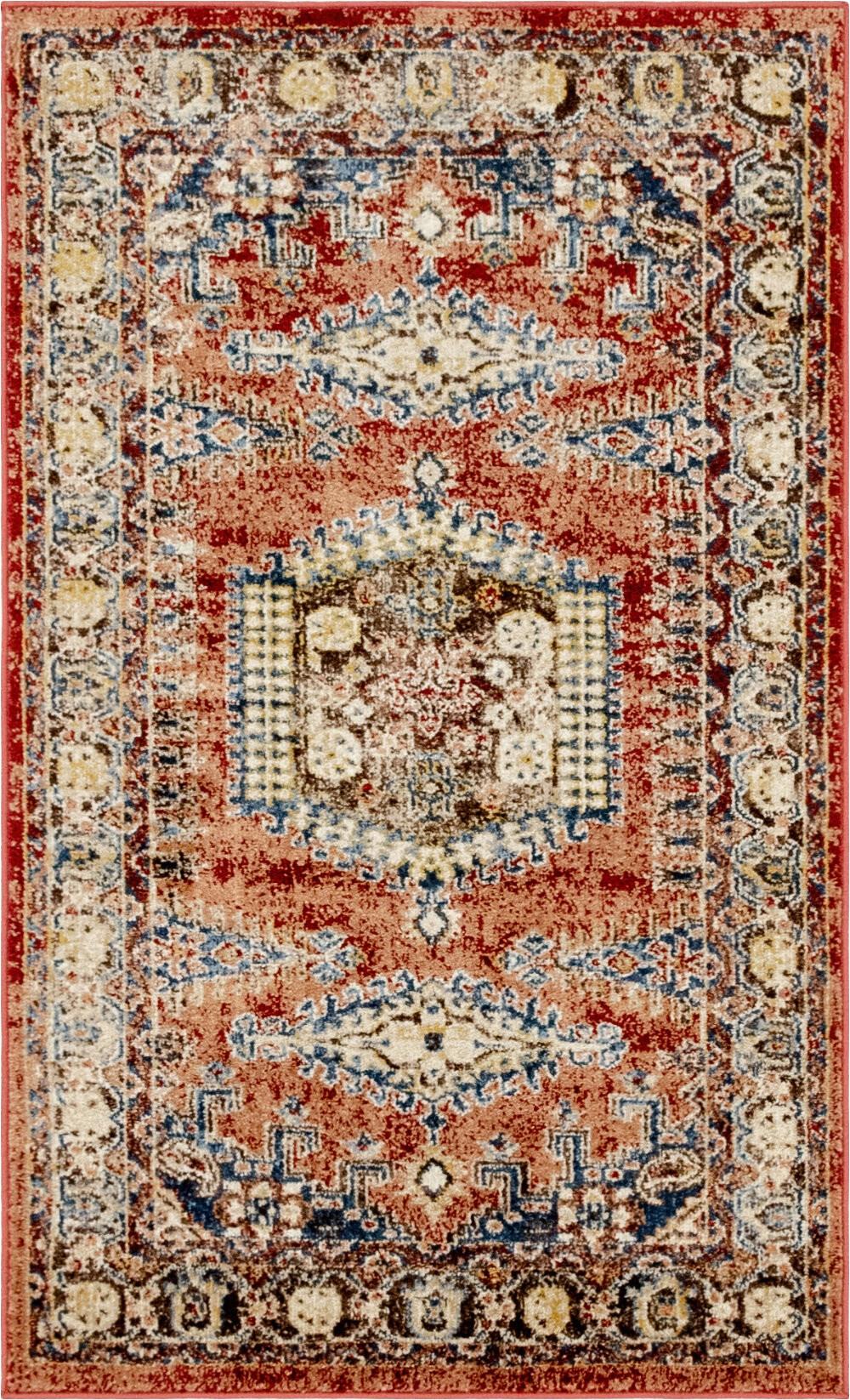 nathanson oriental terracotta area rug