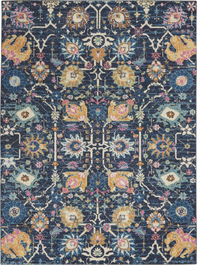 kids verenna navy 4 x 6 rug image item