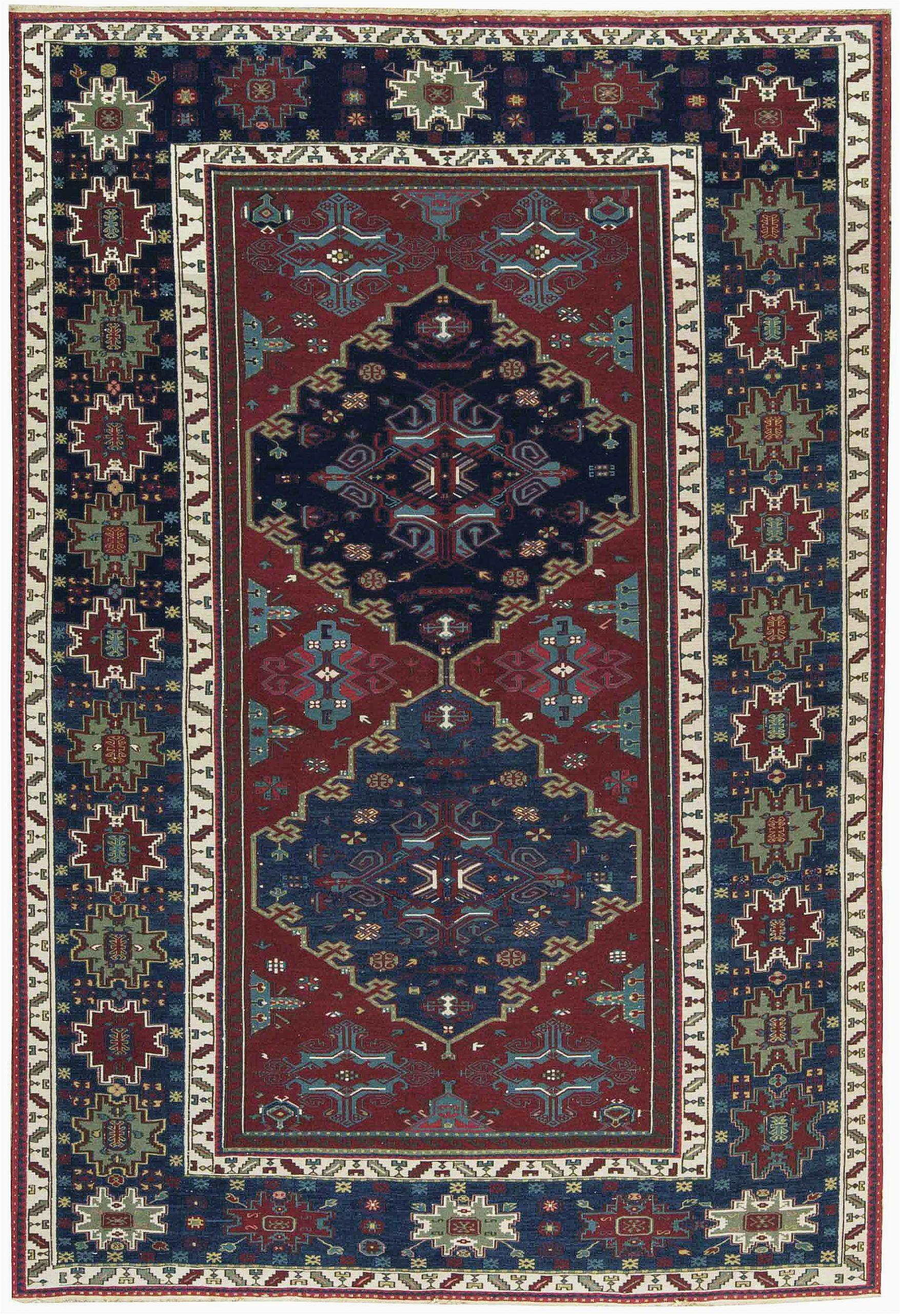 bokara rug co inc one of a kind sumack handwoven 6 x 9 wool navy bluerust area rug abhd2040