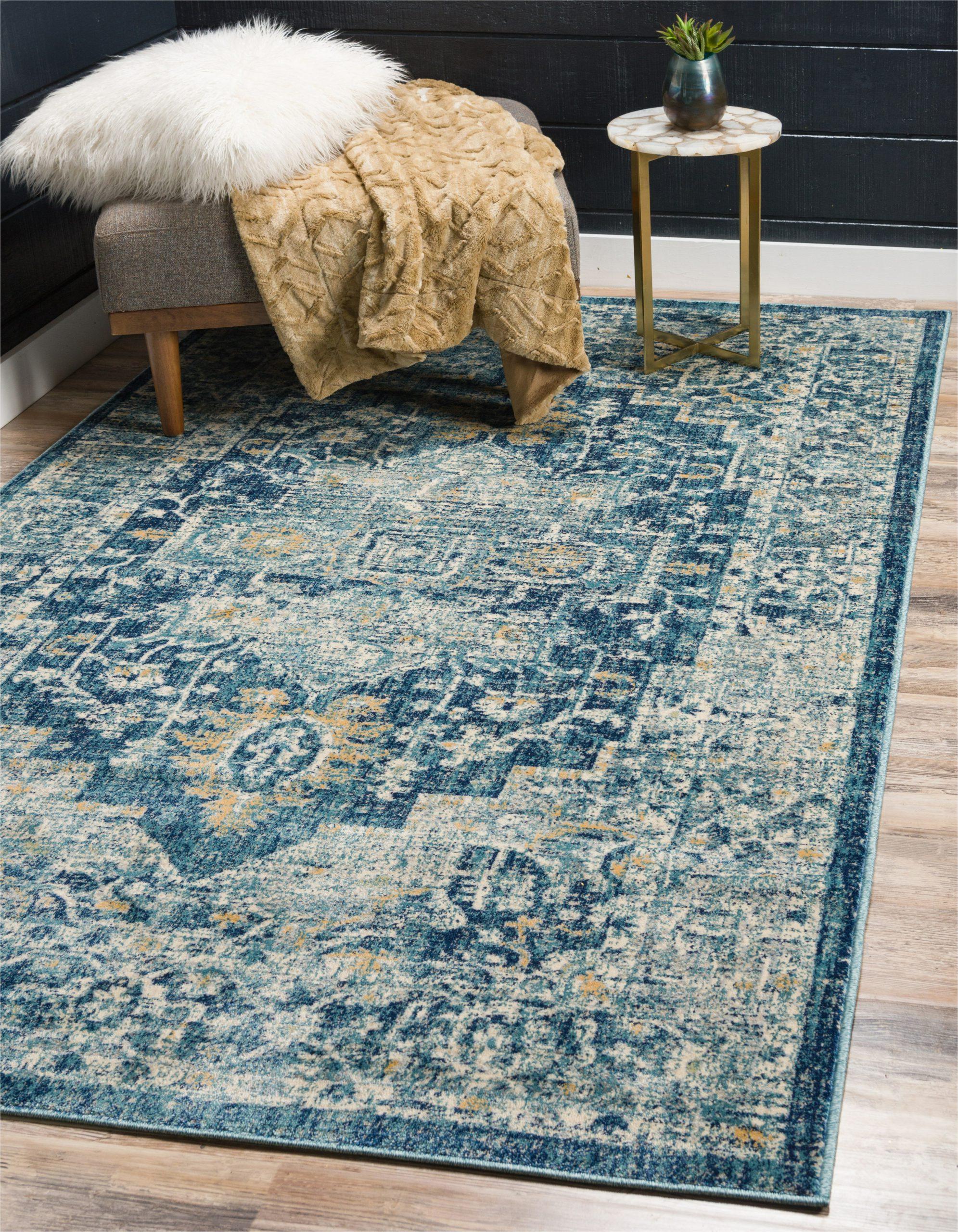 jae navy blue area rug
