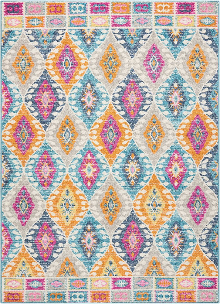 Nourison Passion PSN02 Multicolor Area Rug p