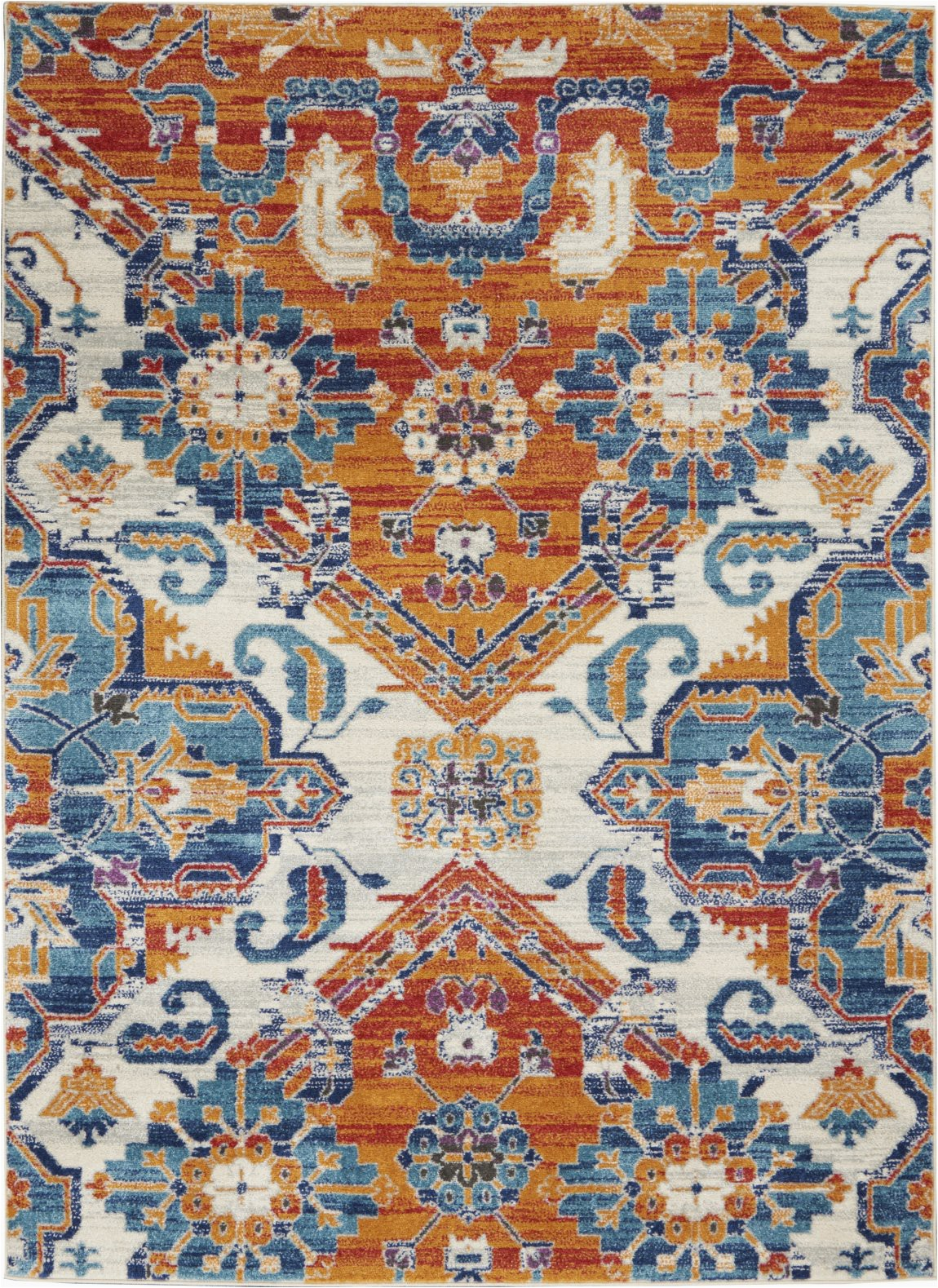 nourison passion psn31 multicolor area rug