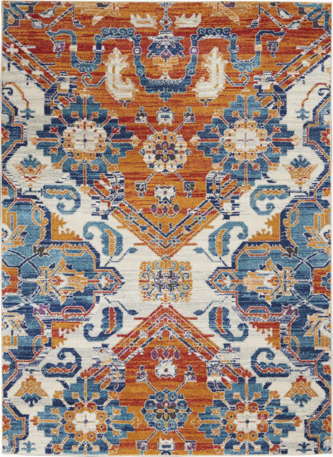 nourison passion psn31 multicolor area rug