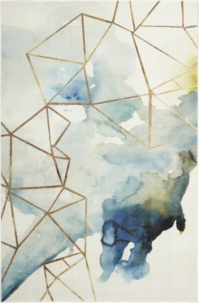 amyra off white 8 x 10 rug image item