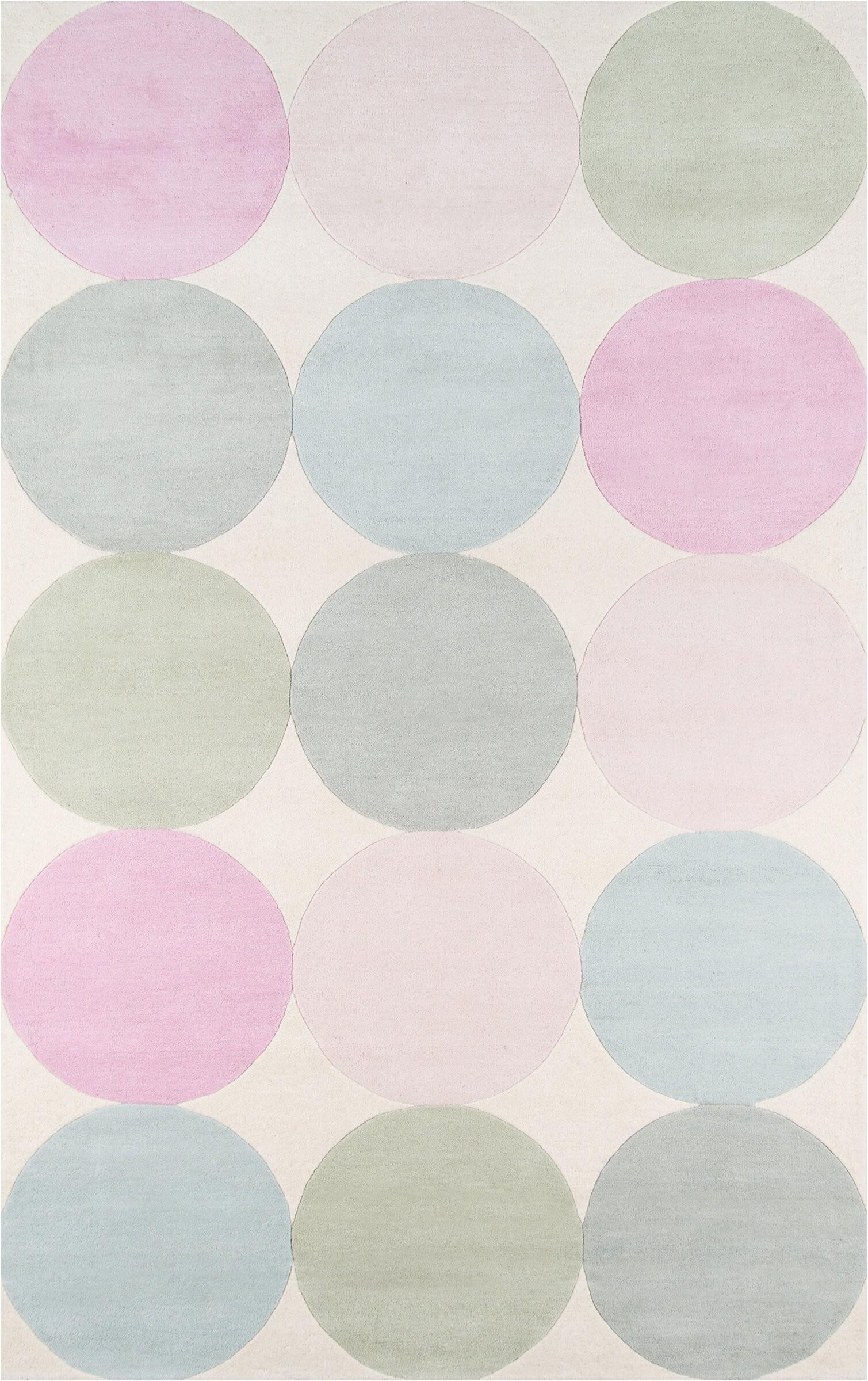 novogratz agatha polka dots handmade tufted wool pastelpinksage area rug nmom1008 piid=