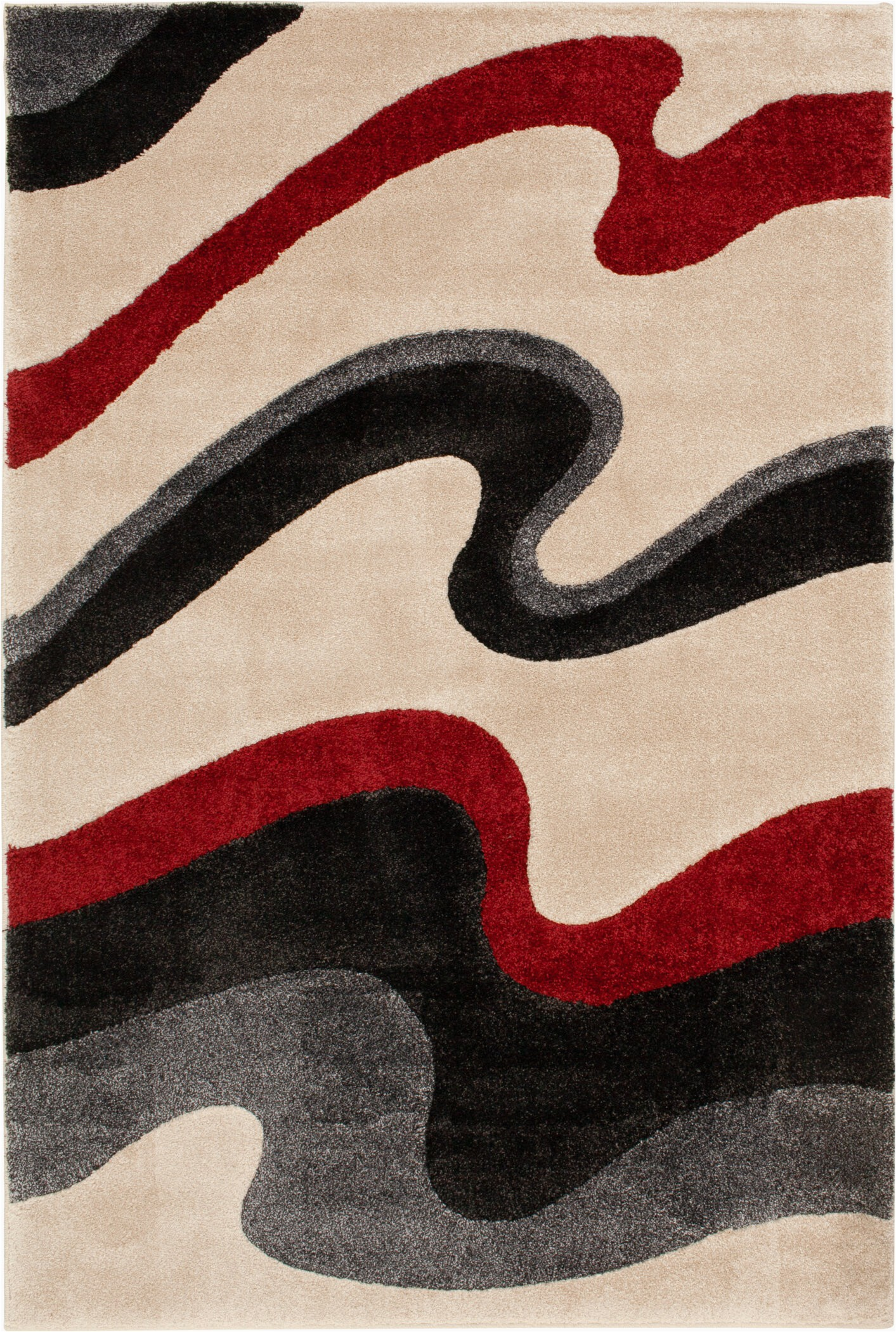 stian creamredblack area rug