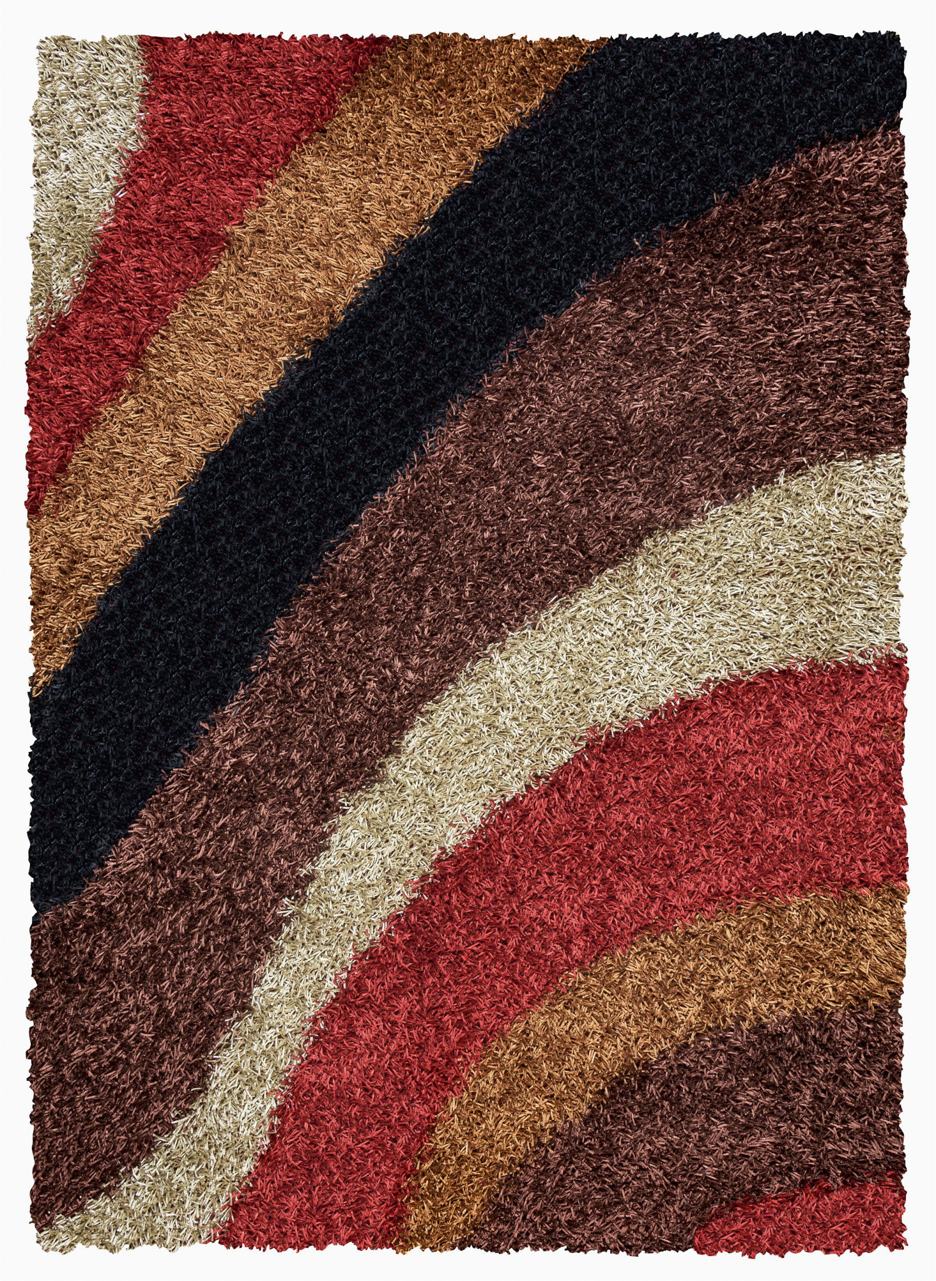 Red Brown and Tan area Rugs Hand Tufted Brown Red Tan area Rug