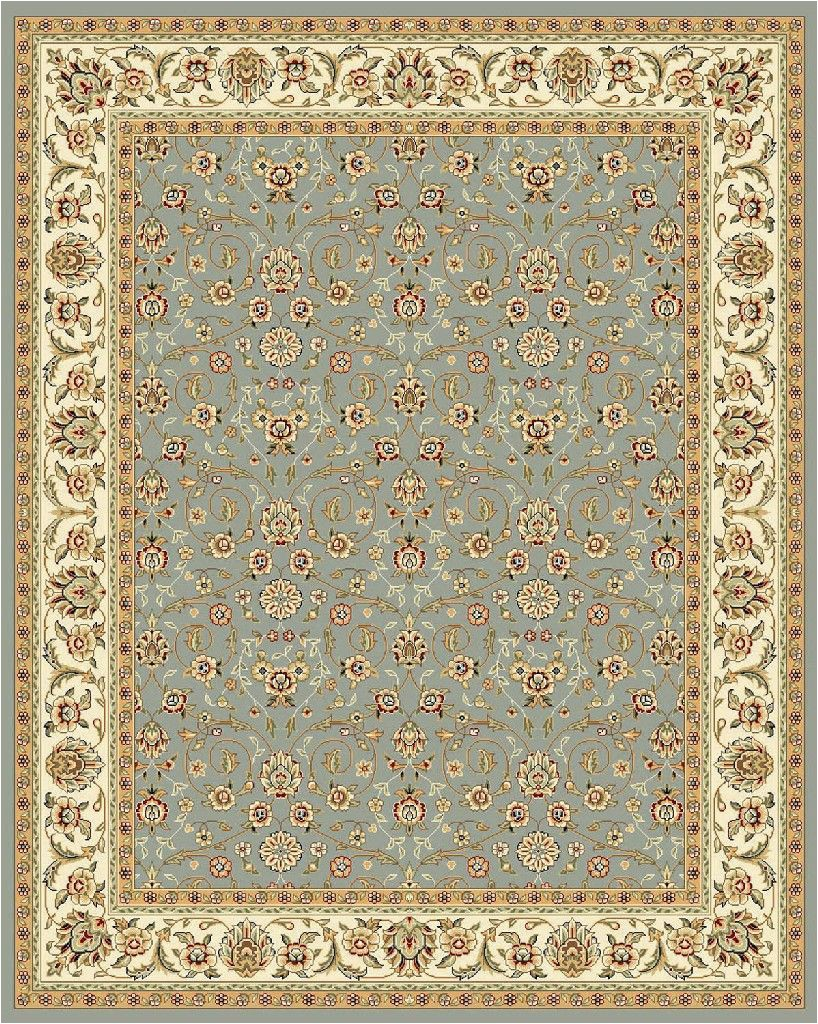 lyndhurst collection 10 x 14 rug in light blue and ivory safavieh lnh312b 10