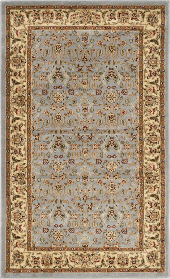 safavieh lyndhurst lnh312b light blue ivory area rug