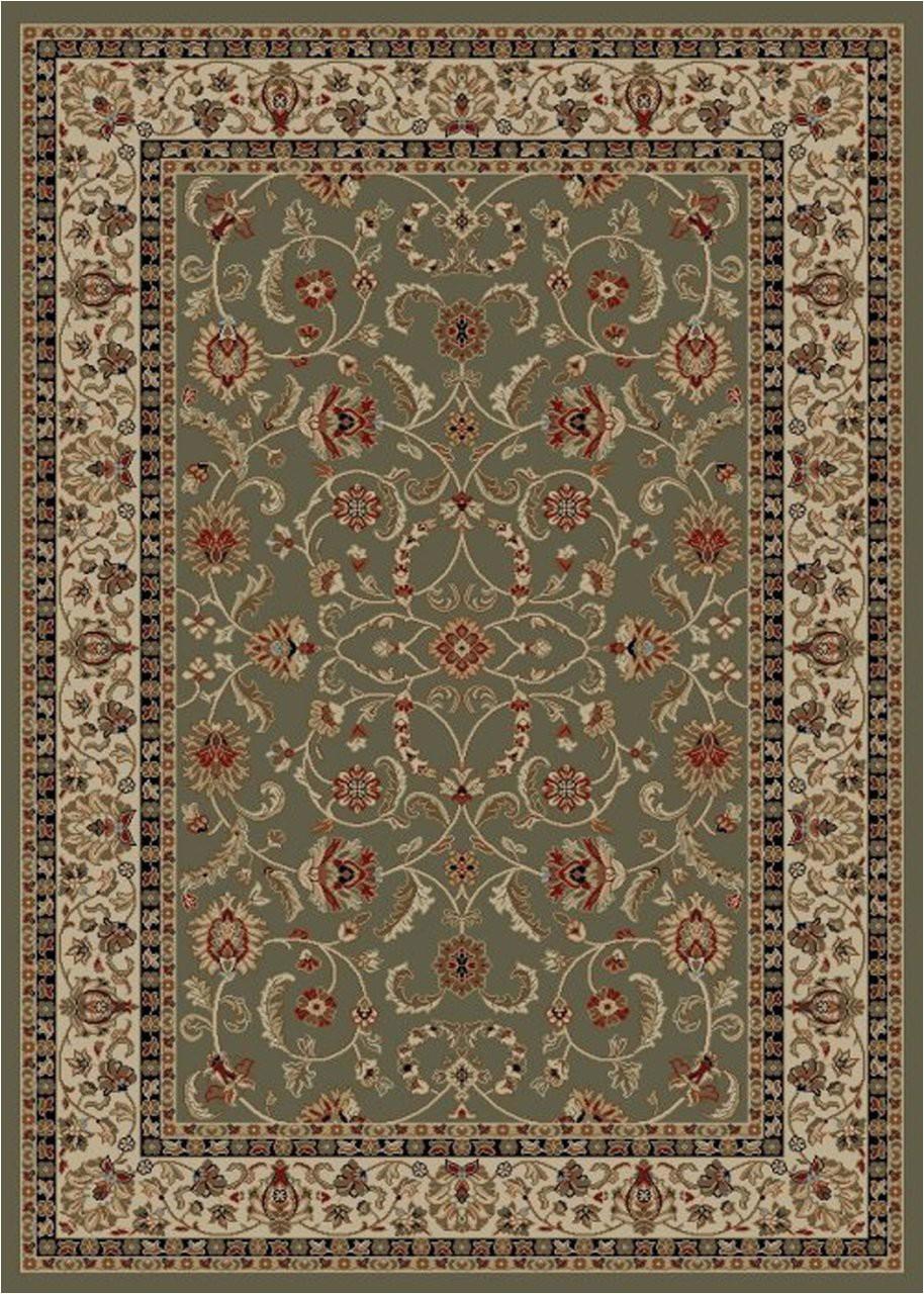 dean classic keshan sage green oriental area rug 710 x 910 8x10