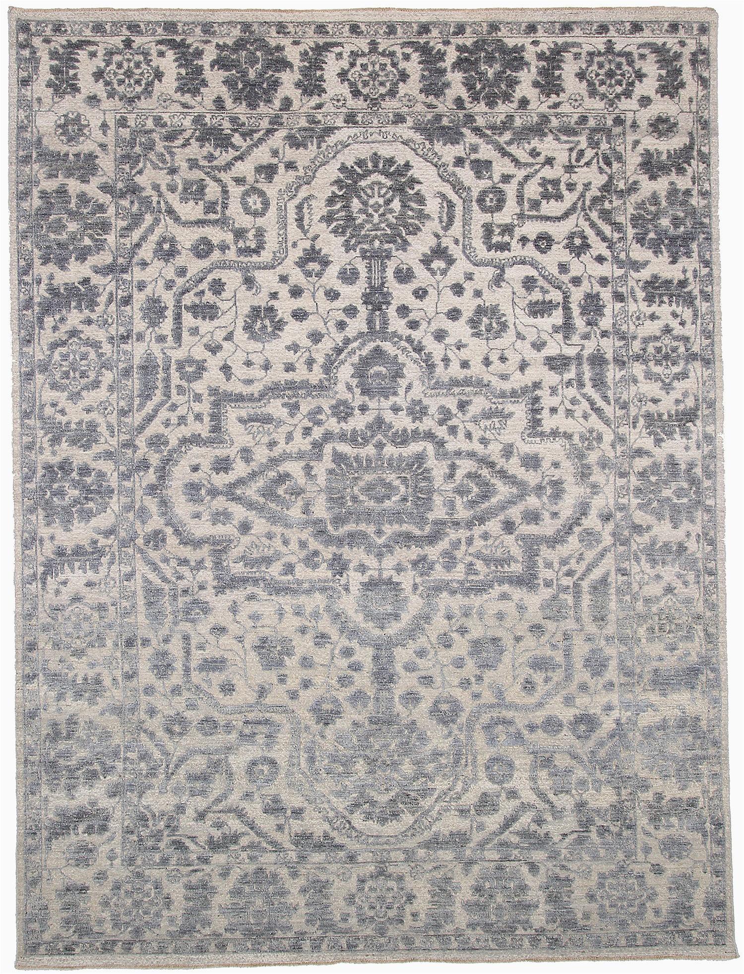 9x12 ft pakistani hand knotted blue wool sku