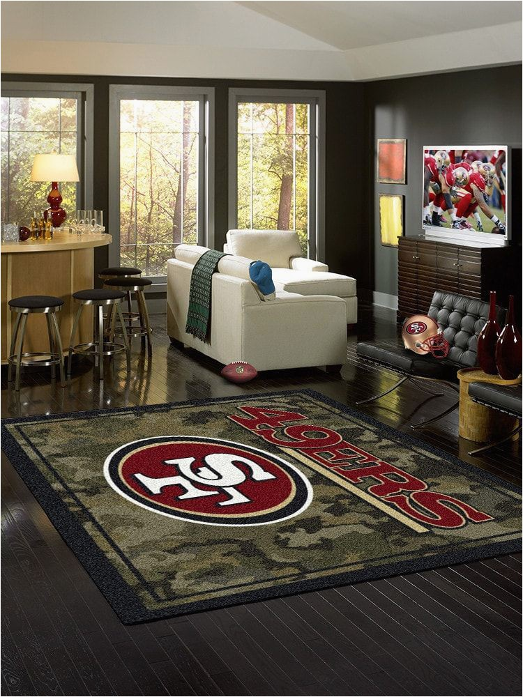 San Francisco 49ers area Rugs San Francisco 49ers area Rug