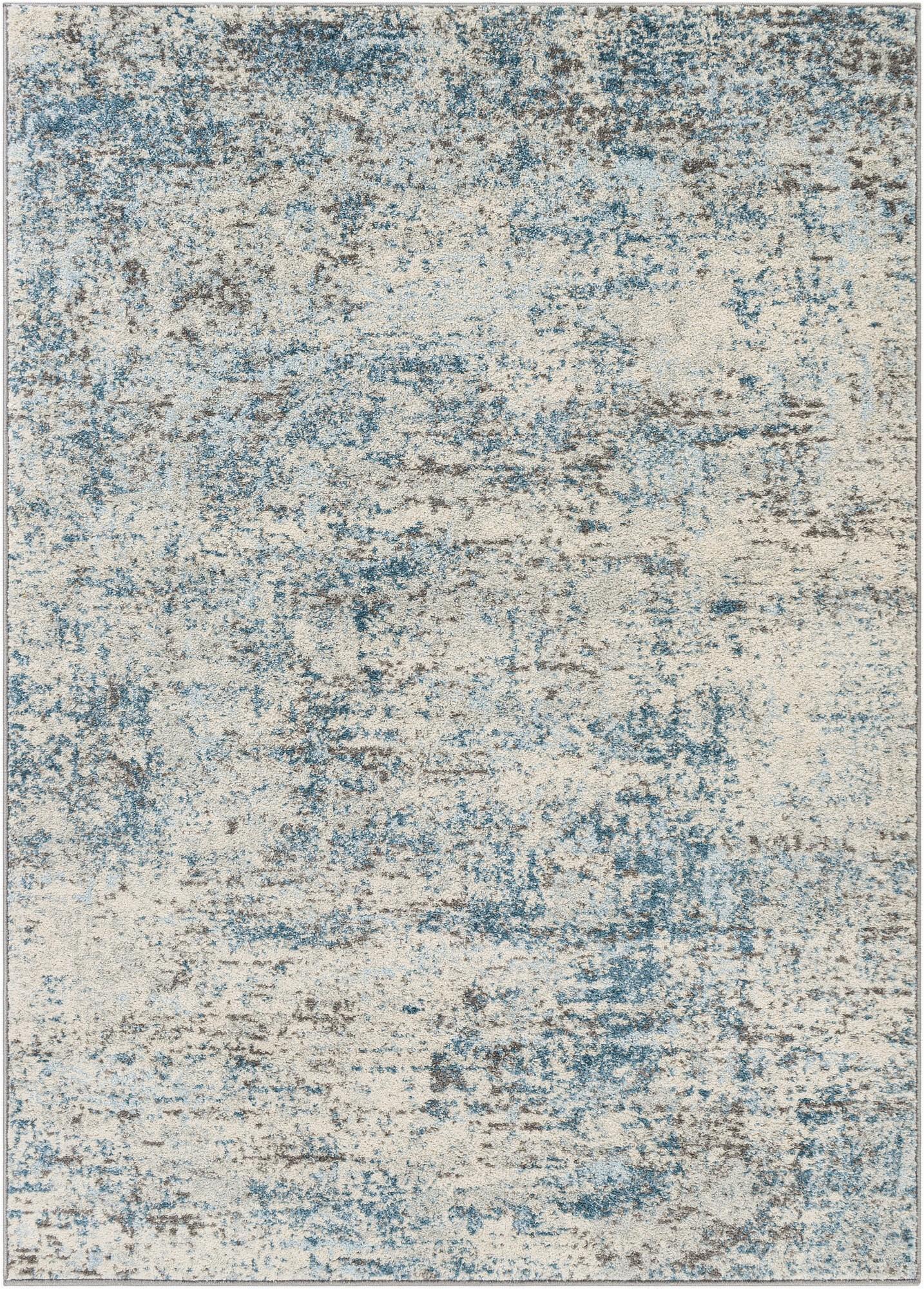 hawkesbury mon power loom tealcream rug