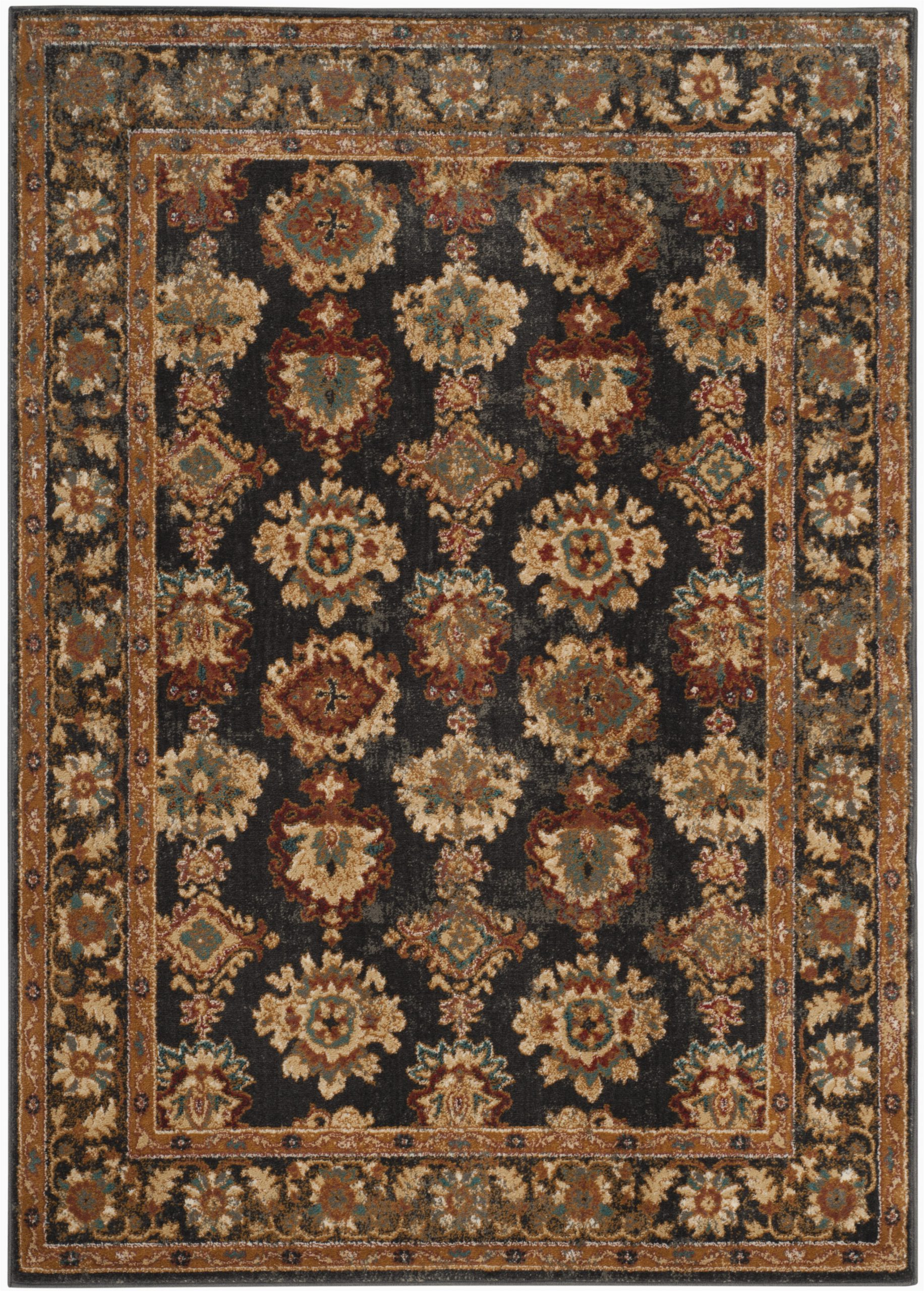 lowe multi color area rug