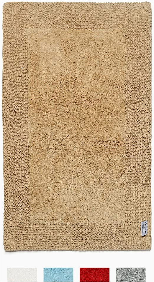 100 Cotton Reversible Bath Rugs Amazon Qltyfrst Bath Rugs Reversible Premium