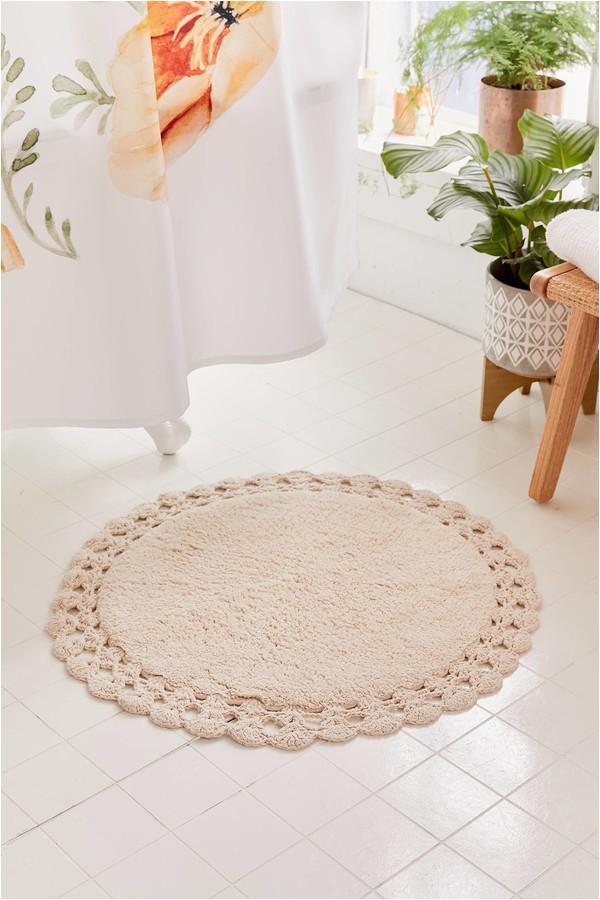 living fts=round bath mat