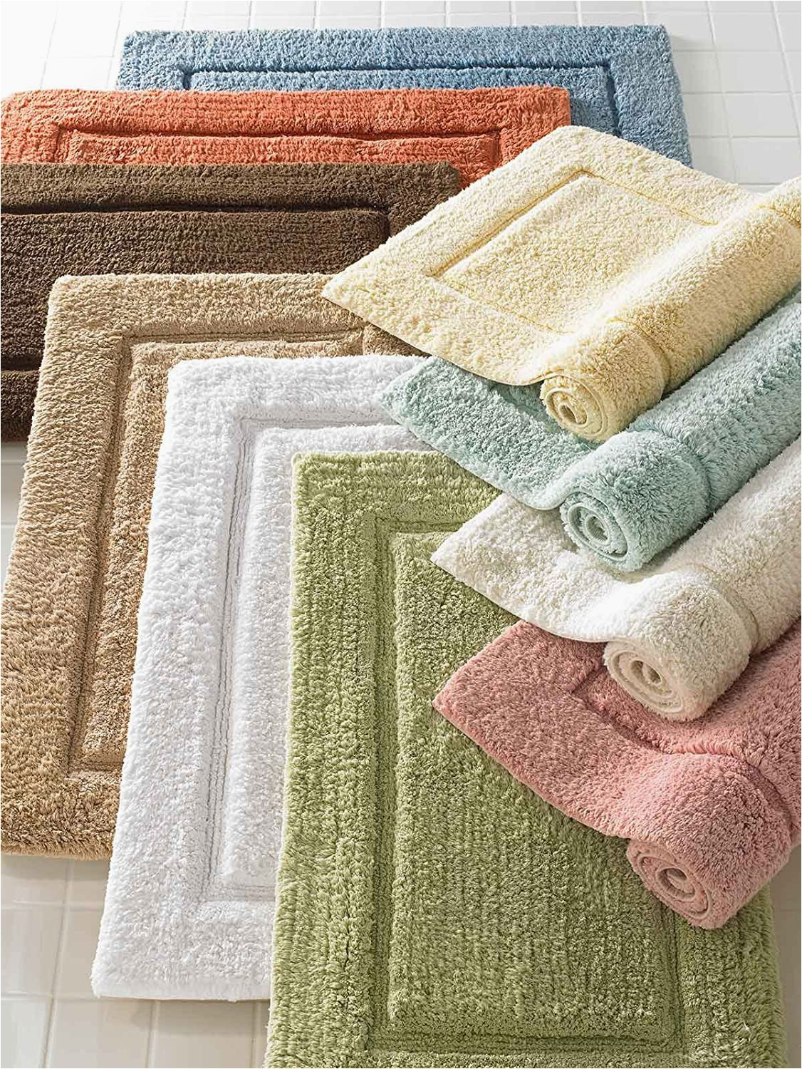 40 X 24 Bath Rug Amazon Luxor Linens Mariabella Egyptian Cotton