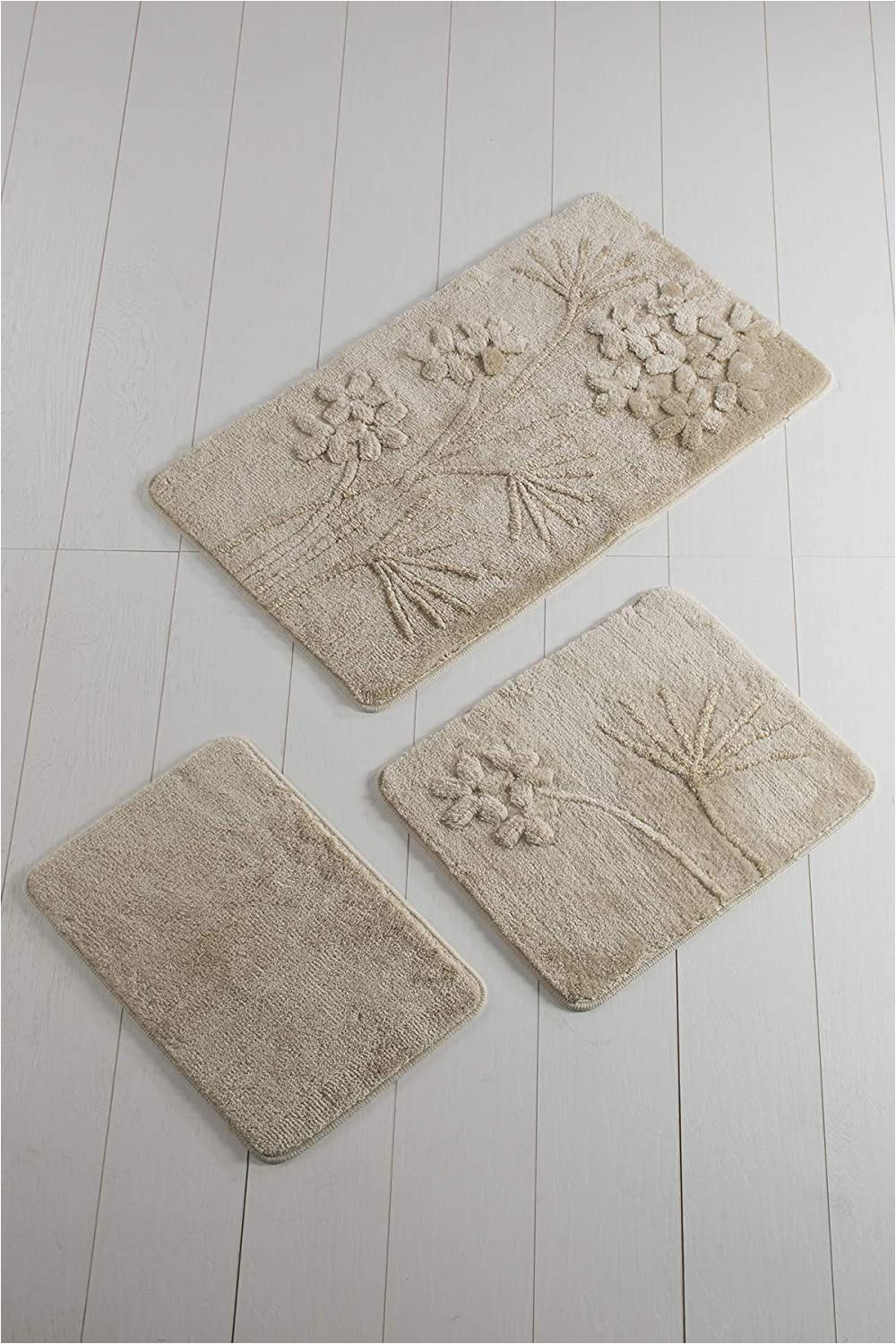 40 X 24 Bath Rug Amazon orchid Beige Pink Bathroom Rugs Set 3 Pieces 24