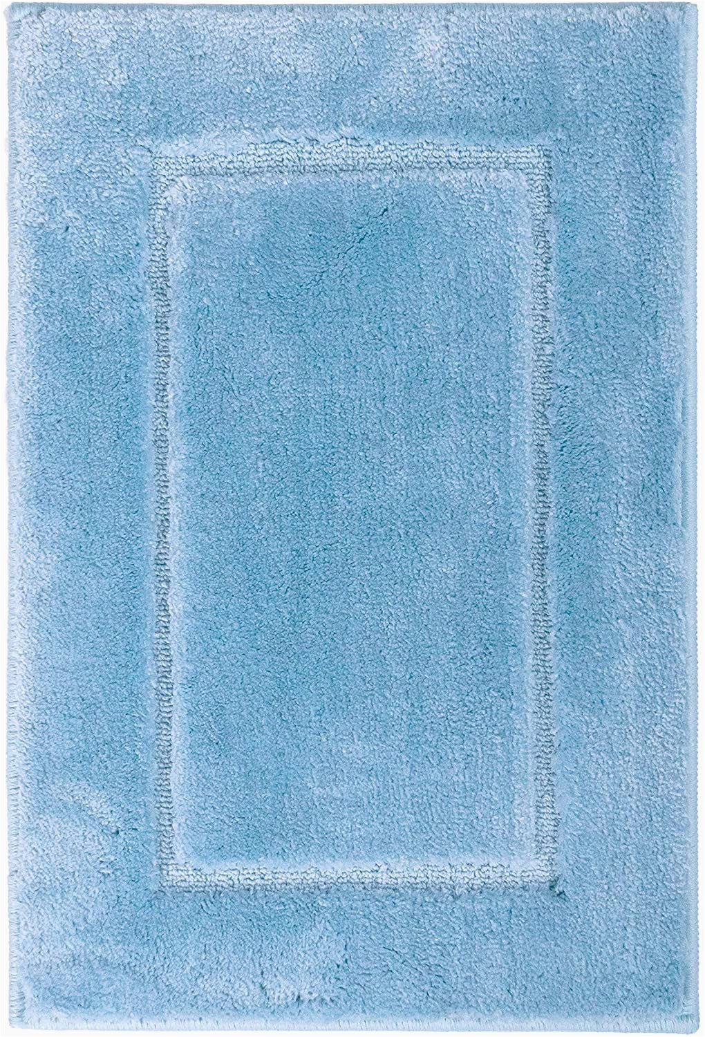 40 X 60 Bath Rug Ridder Bath Rug Bathroom Carpet Polyester Light Blue