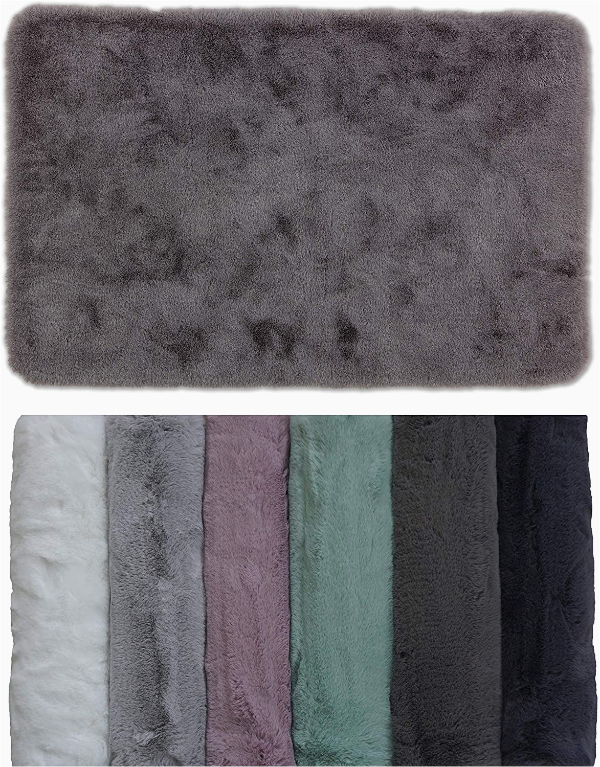 40 X 60 Bath Rug Schöner Wohnen Bathroom Rug Very Fluffy Bath Mat Washable and Non Slip Rose 40 X 60 Cm
