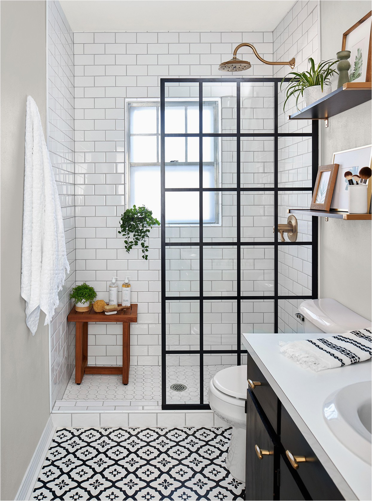 5 X 8 Bath Rug before and after Small Bathroom Remodels that Showcase