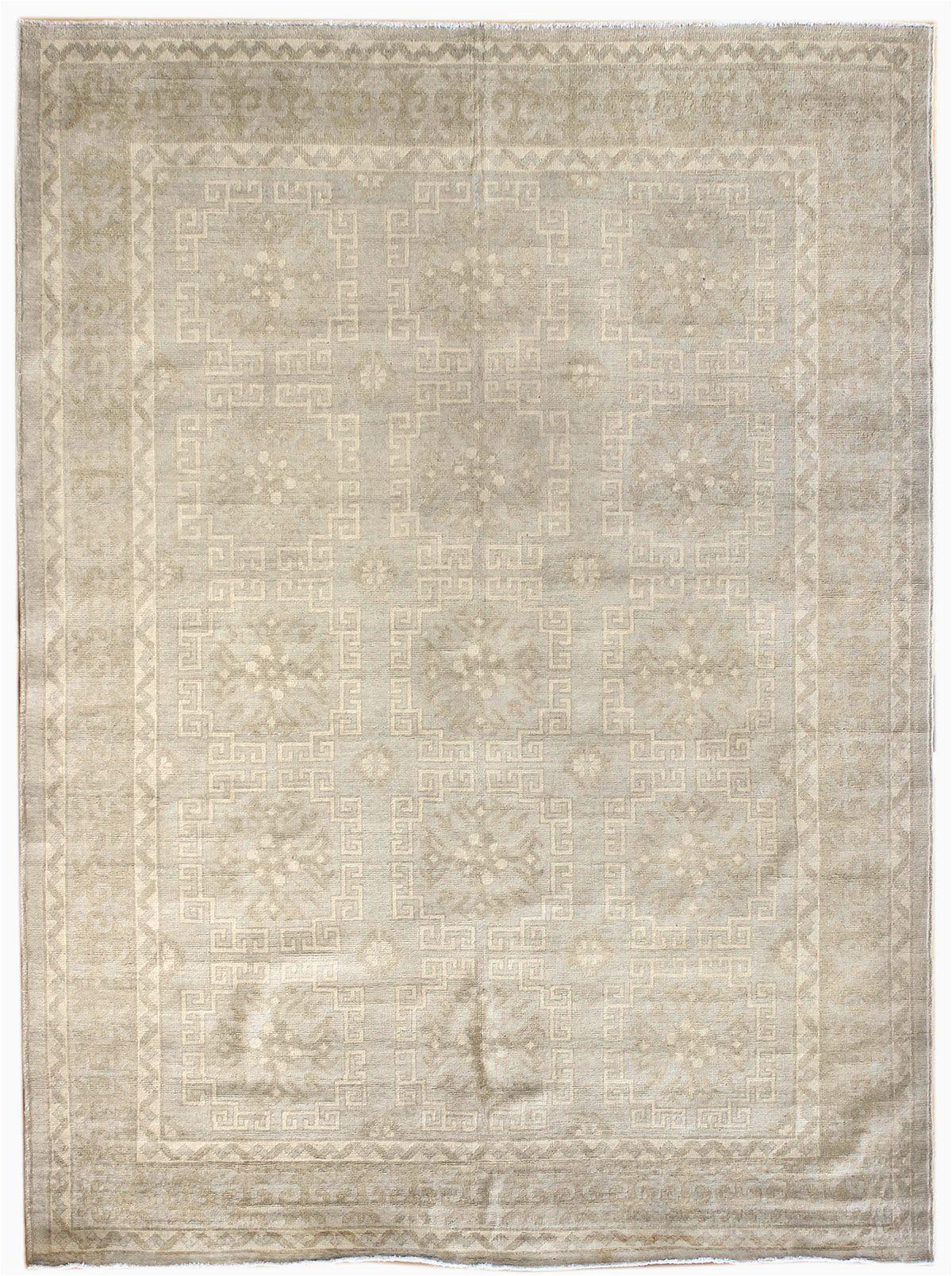 5 X 8 Bath Rug soft tone Rugs Gallery soft tone Khotan Design Rug Hand