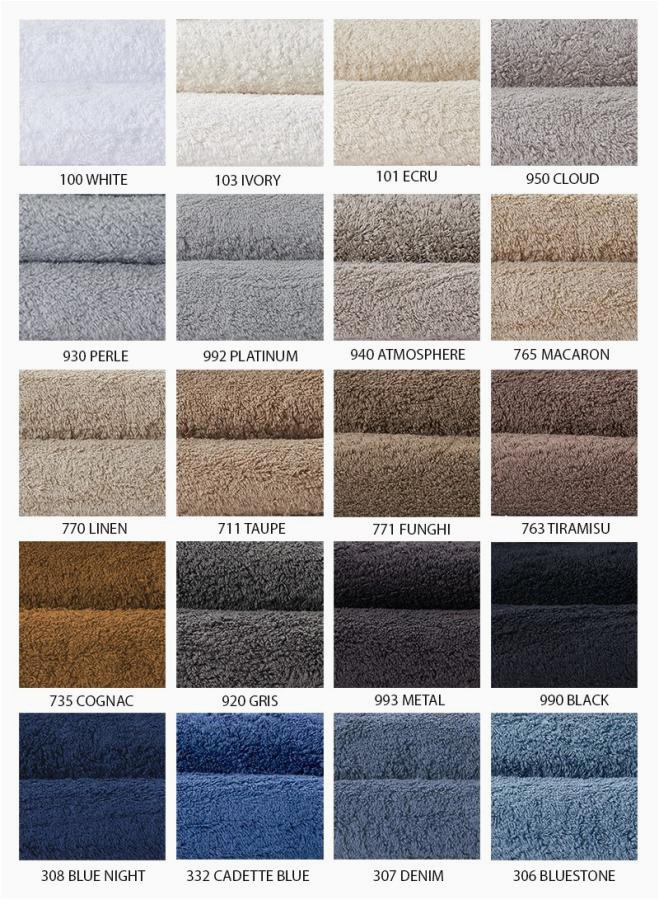 Abyss Towel Rug Colors 1