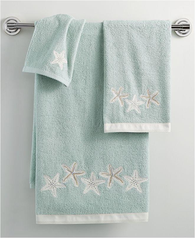avanti bath sequin shells 16 x 30 hand towel ID=