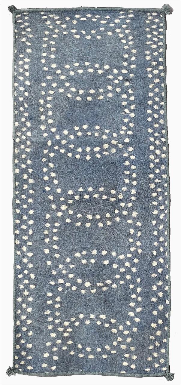 "Bath Rug Runner 72 Handmade Wool Felt Runner Rug 2 Afghanistan 30"" X 72"""