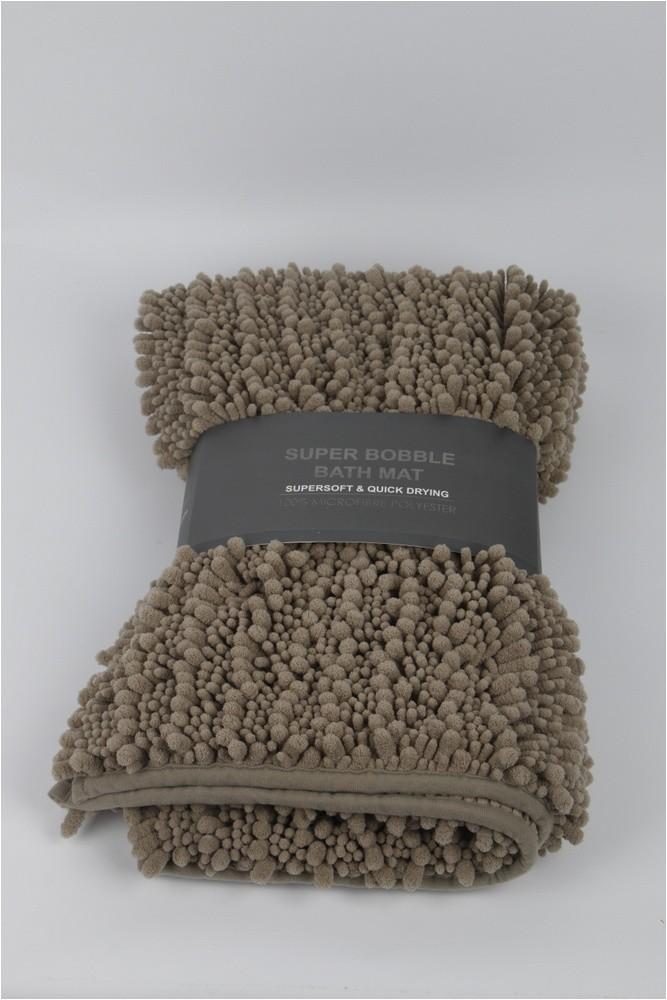 Non Slip Latex Backing Small Luxury Bath Rug