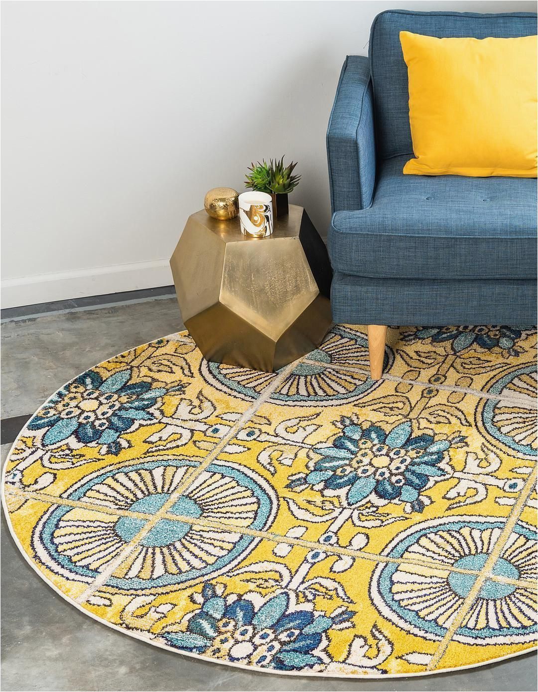 Bed Bath and Beyond Round area Rugs Gold 8 X 8 Hyacinth Round Rug area Rugs