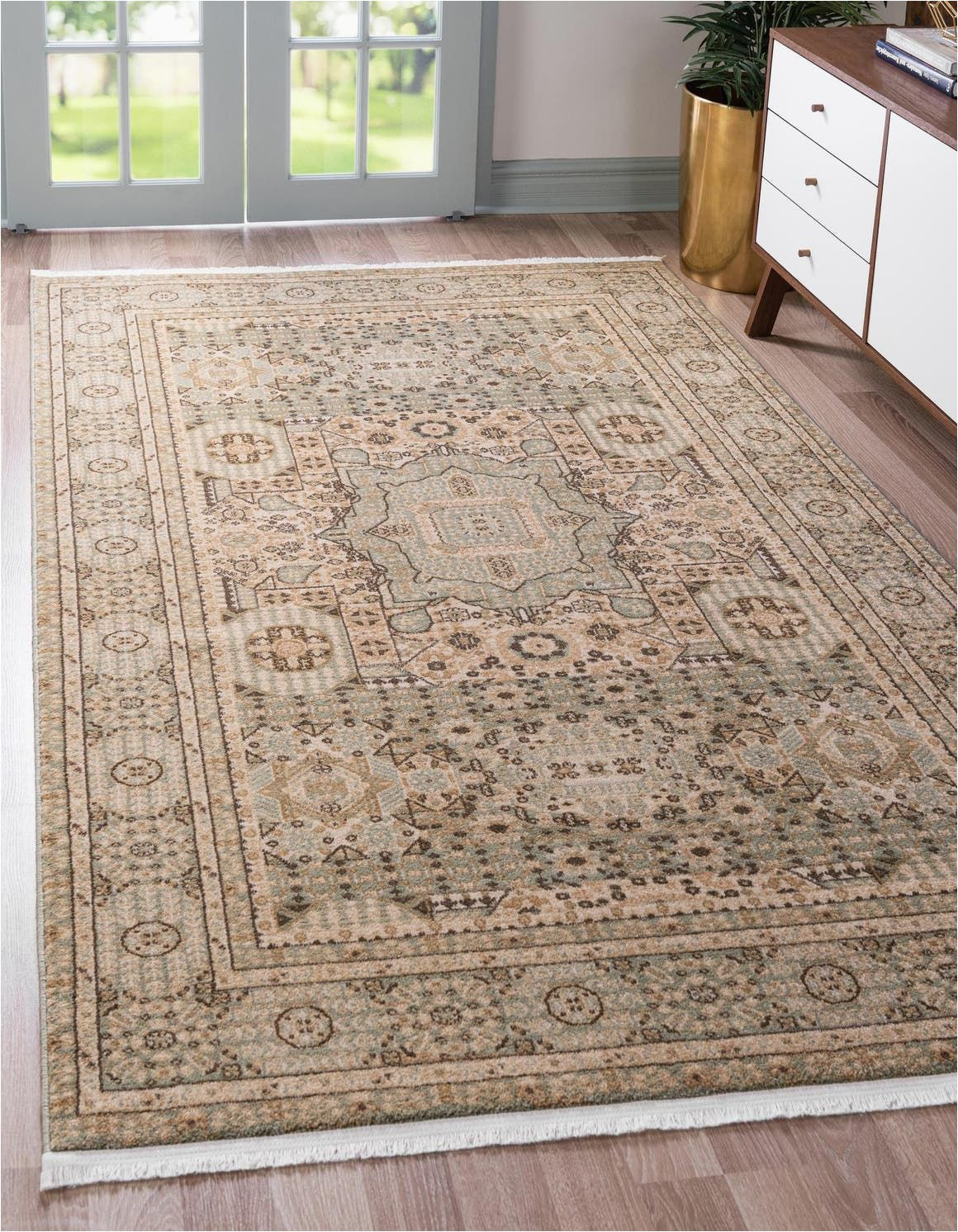 Bed Bath and Beyond Rugs 9×12 Amina Light Green Vintage 9×12 area Rug In 2020