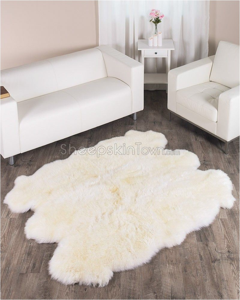 Bed Bath and Beyond Sheepskin Rug Ivory White Sheepskin Rug to 5 5×6 Ft