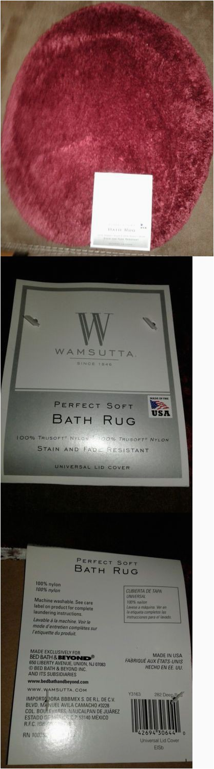 Bed Bath and Beyond Wamsutta Bath Rug Bathmats Rugs and toilet Covers New Wamsutta Perfect