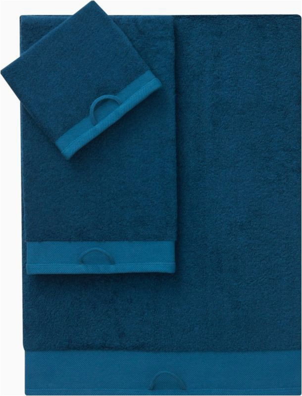 Blue Bath towels and Rugs Rayon Bamboo Swoon Bath towels In Bath Linens