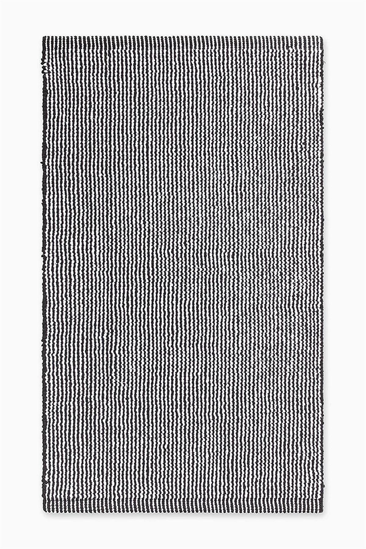 calvin klein calvin klein donald bath rug white black 21 x 34 color=WHITE/BLACK