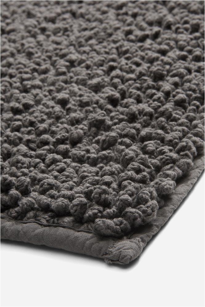 bramble bath rug 25 x 72 in charcoal