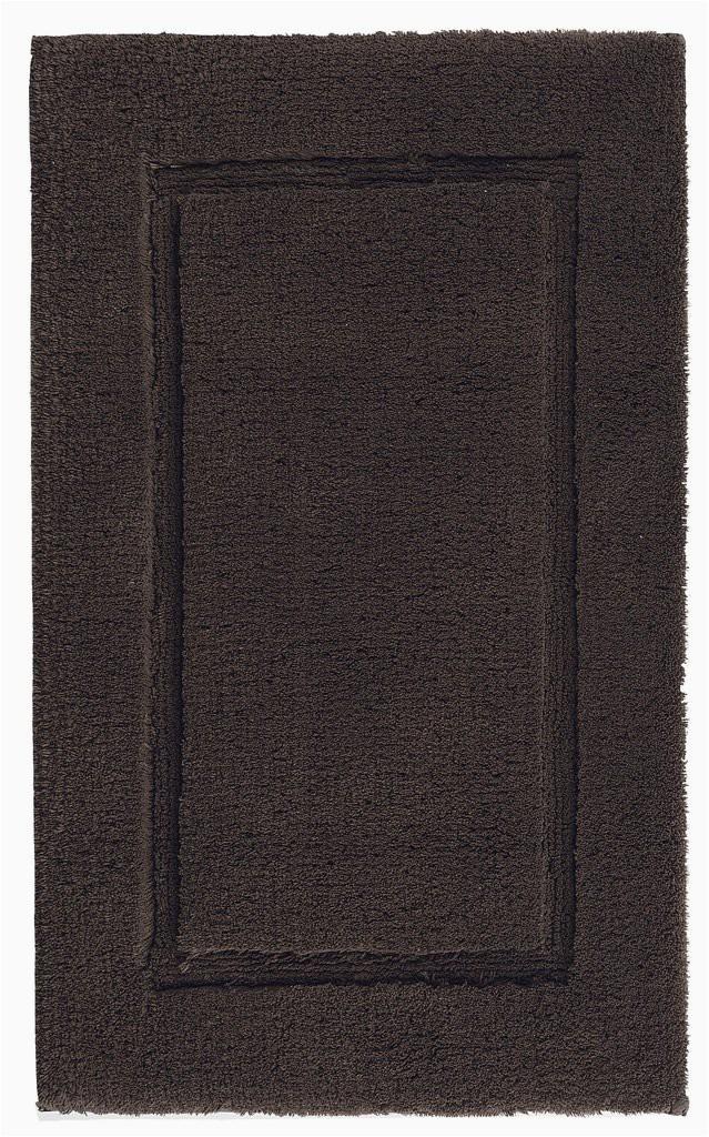 graccioza bathroom mats 20x31 chocolate chocolate prestige bath rug 1024x1024