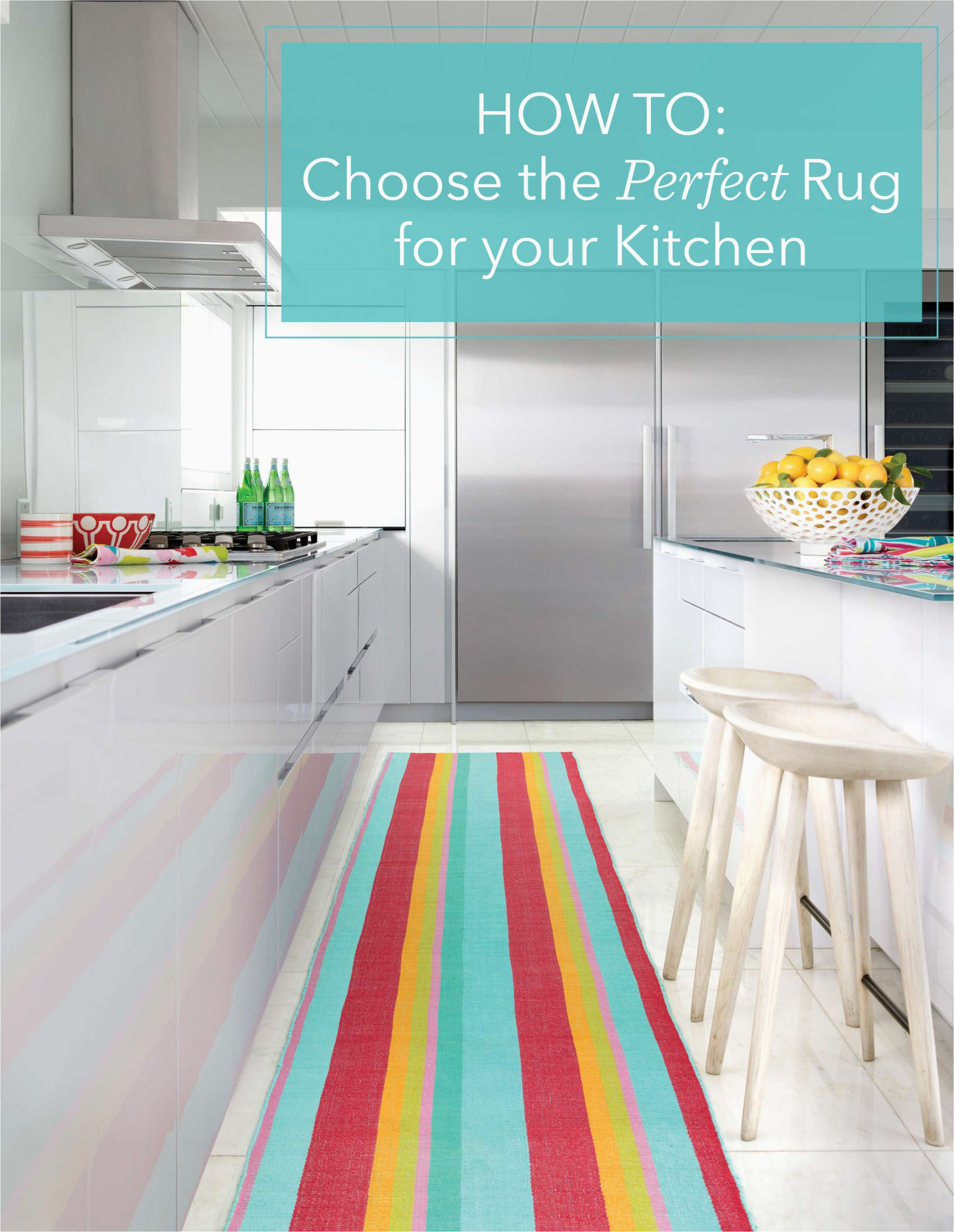 Custom Bath Rug Sizes How to Choose the Perfect Kitchen Rug