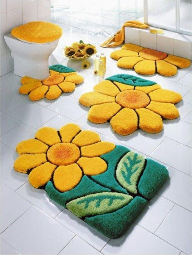 Custom Made Bath Rugs 4 Piece Bathroom Rug Set