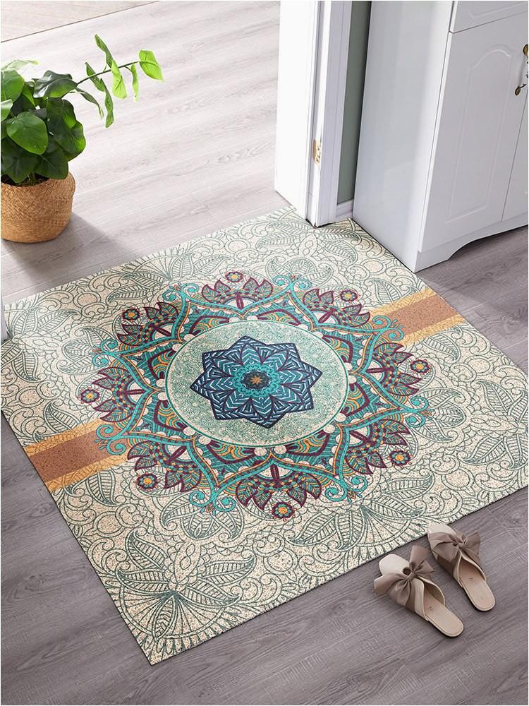 High elastic wire loop PVC Entry mat waterproof non slip carpet DIY plastic bathroom rug Can