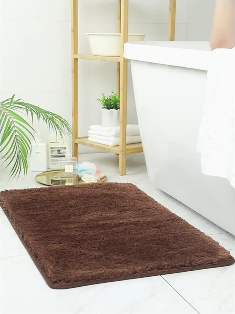 Custom Size Bath Rugs Traditional Chocolate 5 Piece Washable Bathroom Rug Set