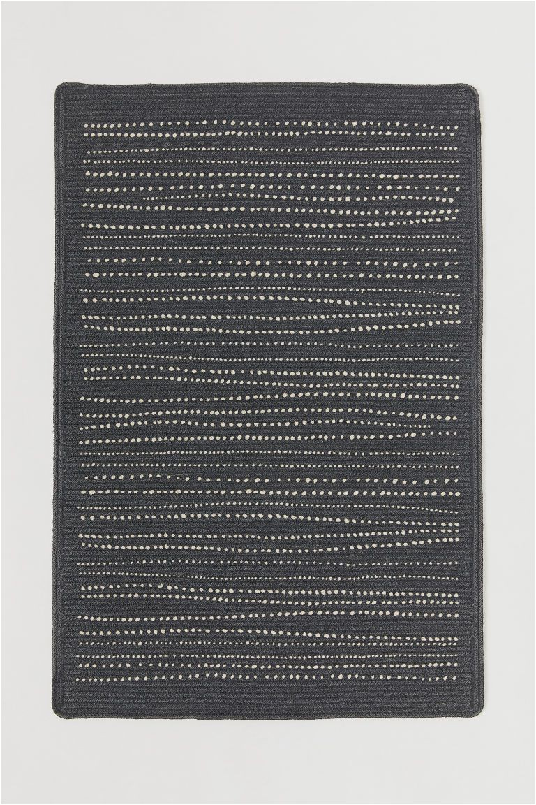 Dark Gray Bath Rugs Patterned Rug