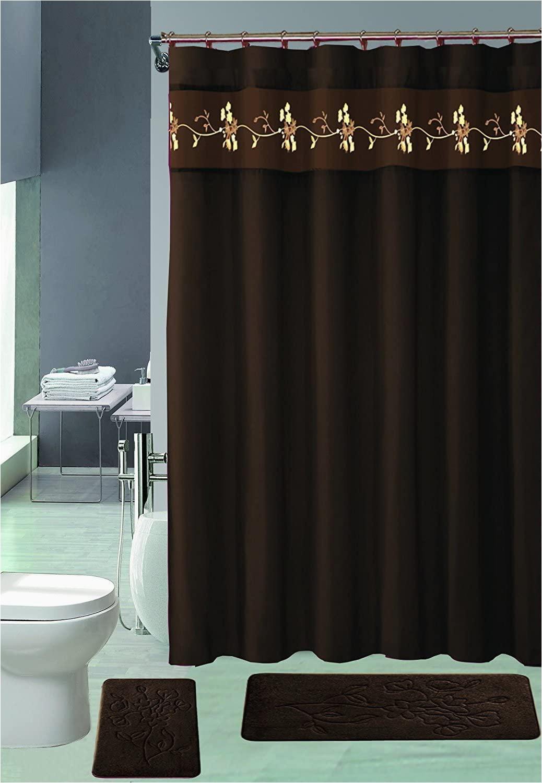 Decorative Bath Rug Sets Amazon Wpm Ahf 15 Piece Memory Foam Bath Rug Set