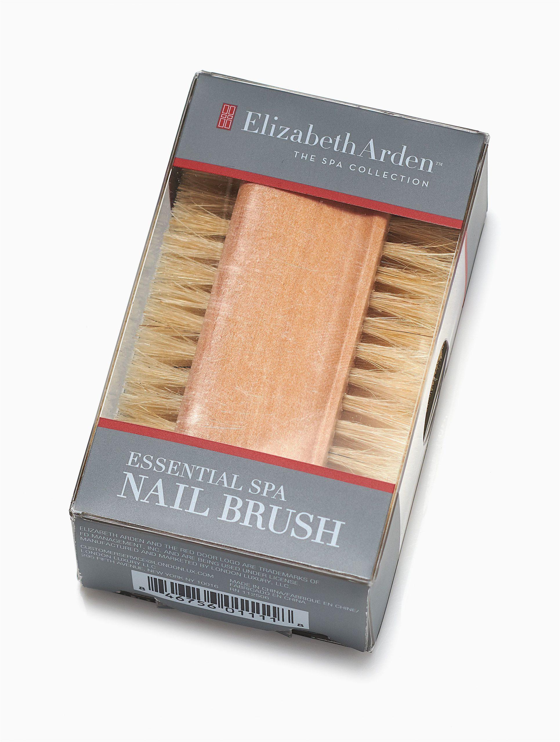 Elizabeth Arden Bath Rug Elizabeth Arden Elizabeth Arden Spa Collection Wood and Natural Boar Bristle Nail Brush Walmart