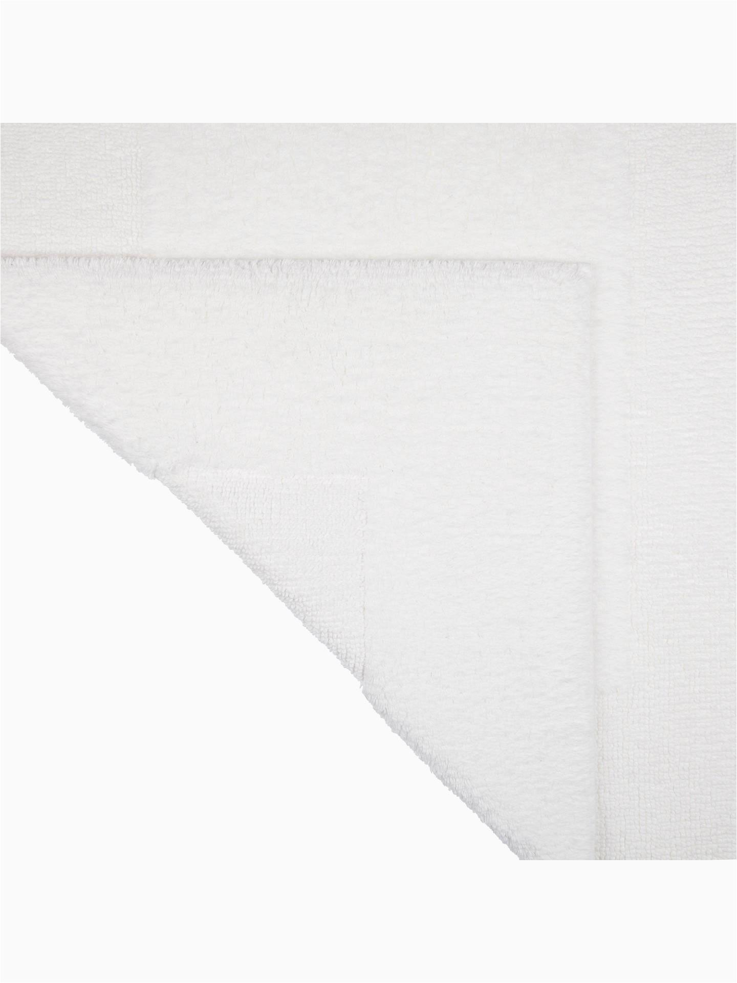 Elizabeth Arden Bath Rug John Lewis Supreme Reversible Bath Rug Extra White